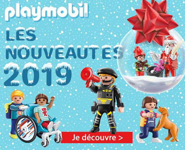 Nouveautés Playmobil 2019