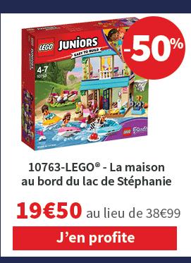 10763-LEGO® La maison au bord du lac de Stéphanie 19€99